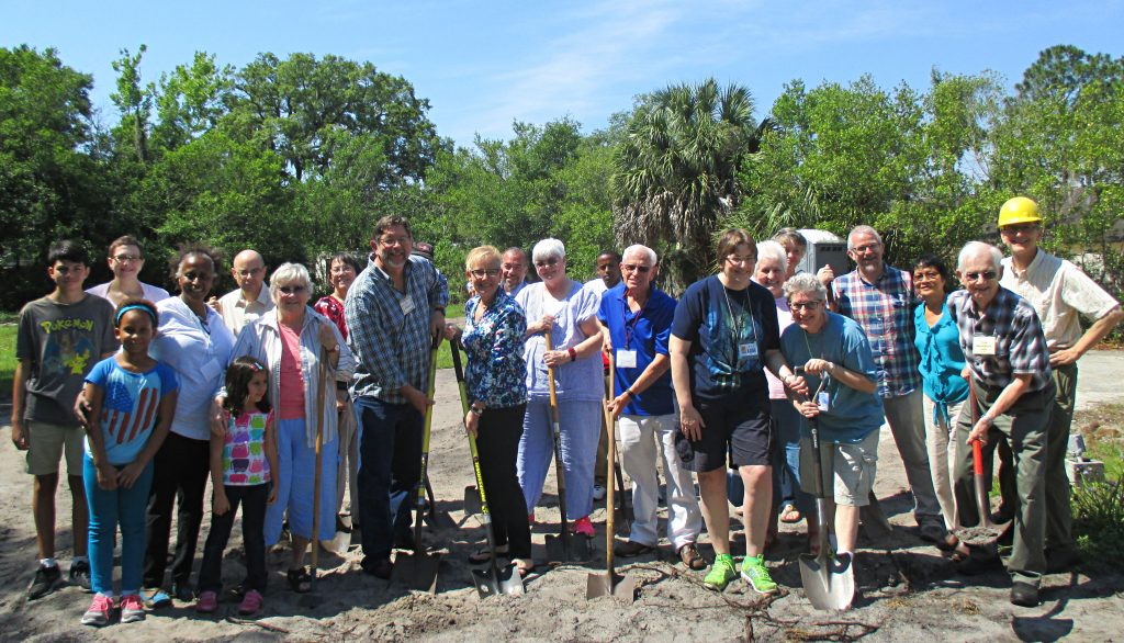 Tampa Meeting Groundbreaking, April 19, 2015