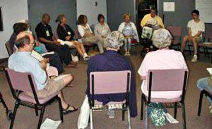 Worship Sharing at SEYM Gathering
