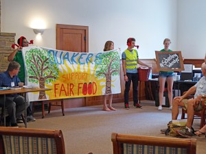 Youth tell FIBM about their Fair Food Action 10-3-15