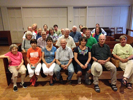 Goose Creek Meeting, Virginia, 6/14/16