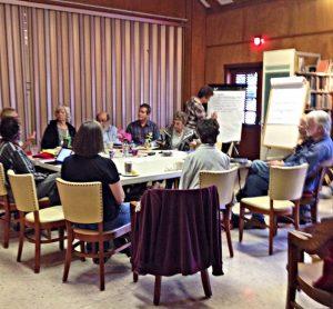 Peace & Social Concerns retreat. photo: Liz Jenkins